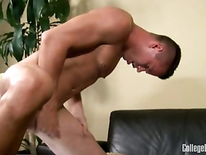 College Dudes - Trent Blade Busts A Nut