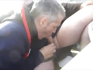 MATURE BJ ON BOAT
